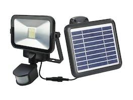 Solar Flood Light PIR 30 LED Li-ion