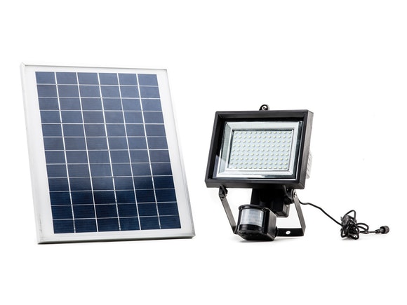 Solar Flood Light PIR 108 LED Ultra-Bright