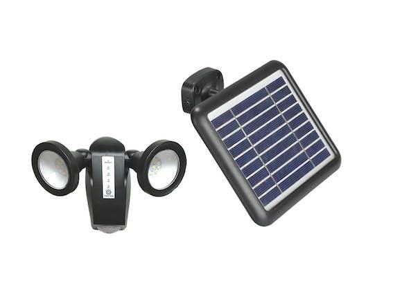 Solar Area PIR Security Light 18 LED