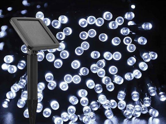 Solar Fairy Lights 200 LED 20m Cool White