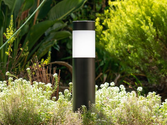 Solar Garden Light - Black