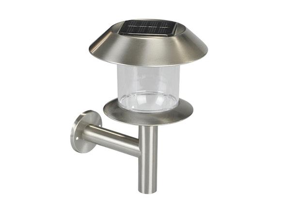 Solar Outdoor Lantern Wall Light