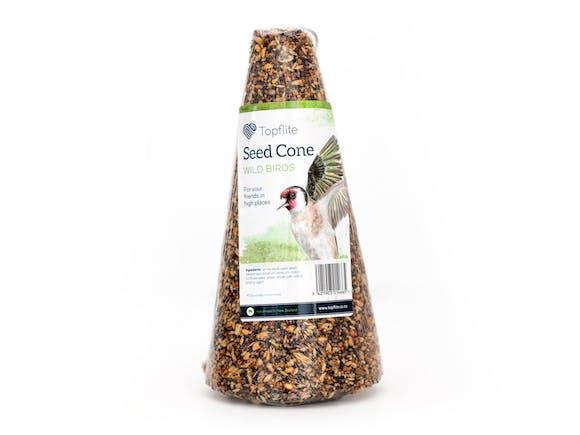 Topflite Wild Bird Feed Seed Cone Large 1kg
