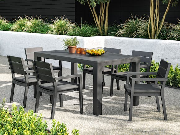 Cube Outdoor Dining Set #1 6-Seater