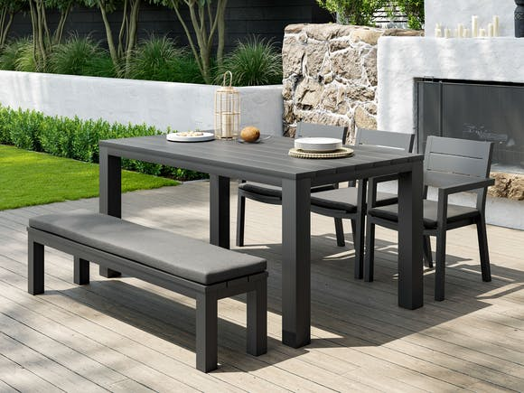 Cube Outdoor Dining Set #2 6-Seater