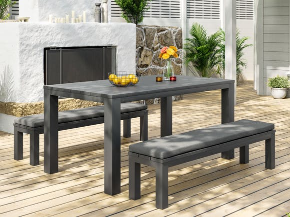 Cube Outdoor Dining Set #3