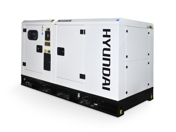 Hyundai Diesel Standby Generator 22kVA 3 Phase