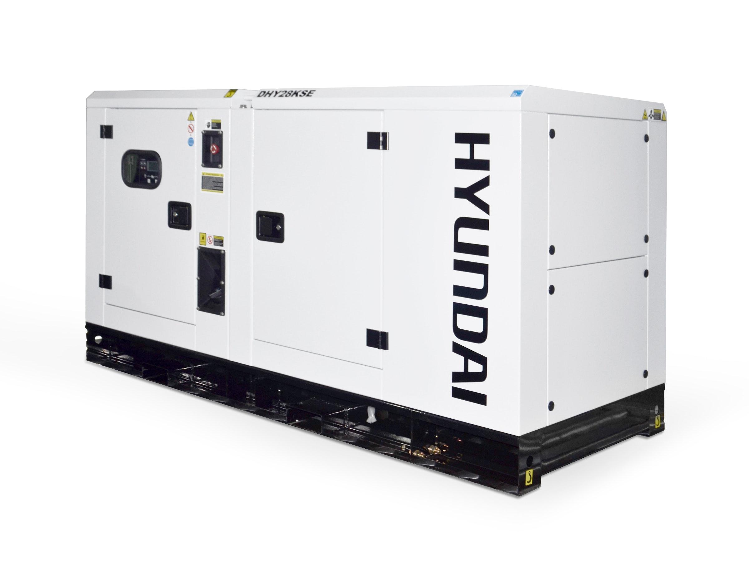 Hyundai Diesel Standby Generator 28kVA