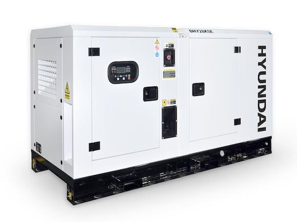 Hyundai Diesel Standby Generator 28kVA 3 Phase