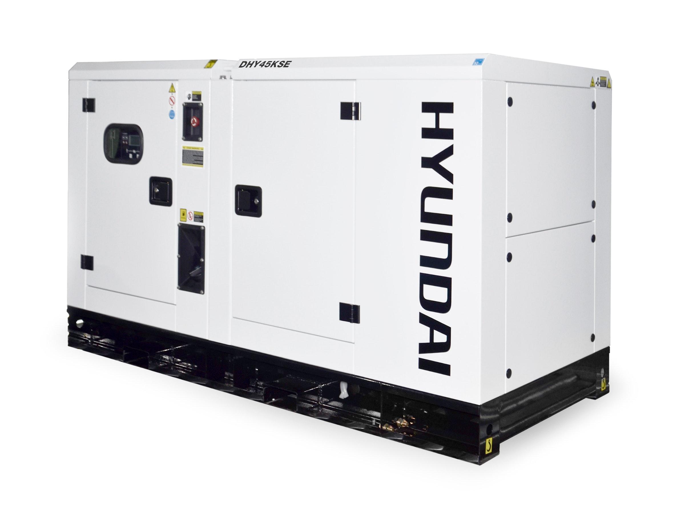 Hyundai Diesel Standby Generator 45kVA