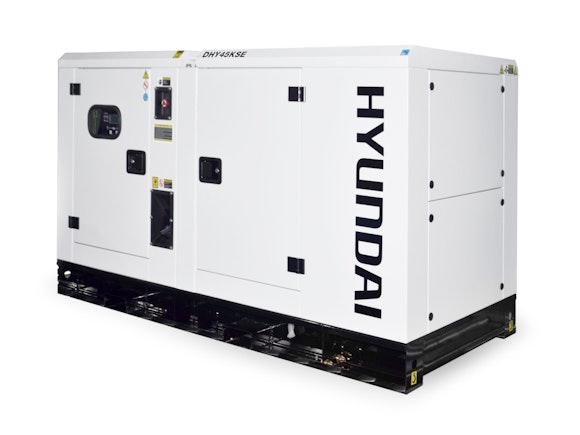 Hyundai Diesel Standby Generator 45kVA 3 Phase