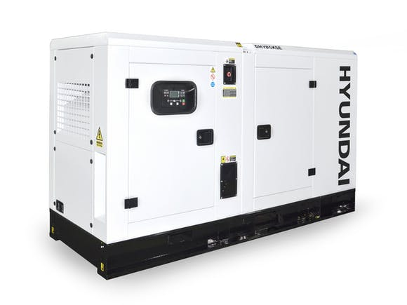 Hyundai Diesel Standby Generator 85kVA