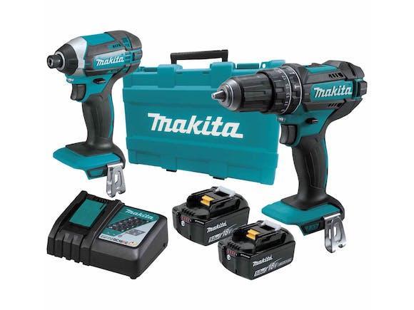 Makita 18V Drill Driver Brushless LXT 5.0Ah Kit