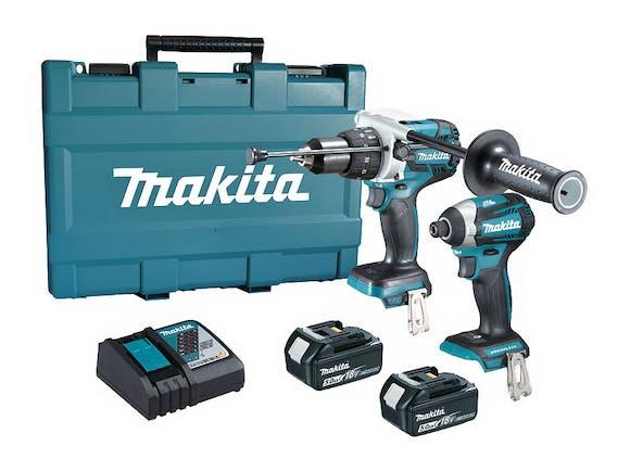 Makita 18V Hammer/Impact Driver Brushless LXT 5.0Ah Kit