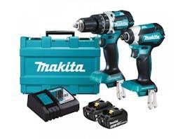 Makita 18V Drill Driver Brushless LXT 3.0Ah Kit