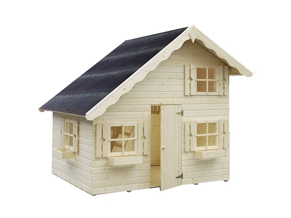 Kids Wooden Playhouse Tom 2.2m x 1.8m x 2.28m