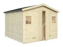 Wooden Garden Shed Dan 2.73m x 2.8m x 1.9m