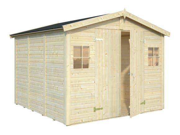 Wooden Garden Shed 2.73m x 2.8m x 1.9m