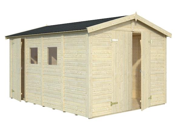 Wooden Garden Shed Dan 2.73m x 3.7m x 1.9m