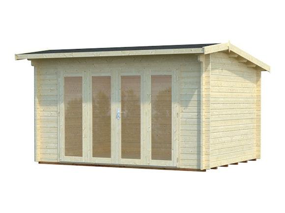 Log Cabin Garden Studio Ines 3.9m x 3.0m