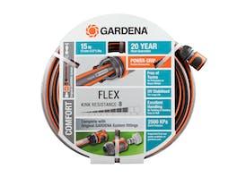 Gardena Garden Hose Comfort FLEX 13mm Set 15m