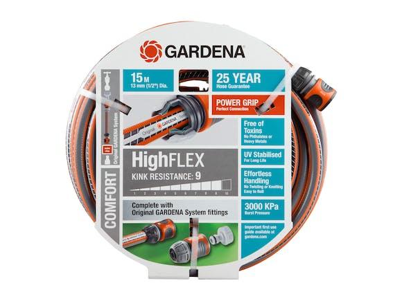 Gardena Garden Hose Comfort HighFLEX 13mm Set 15m