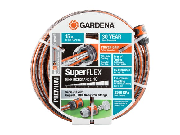 Gardena Garden Hose Premium SuperFLEX 13mm Set 15m