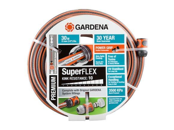 Gardena Garden Hose Premium SuperFLEX 13mm Set 30m