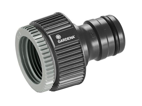 "Gardena Maxi-Flo 19mm Tap Adaptor 3/4"" + 1"""