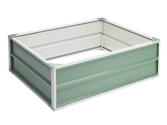Raised Garden Bed 120cm x 90cm x 41cm Green