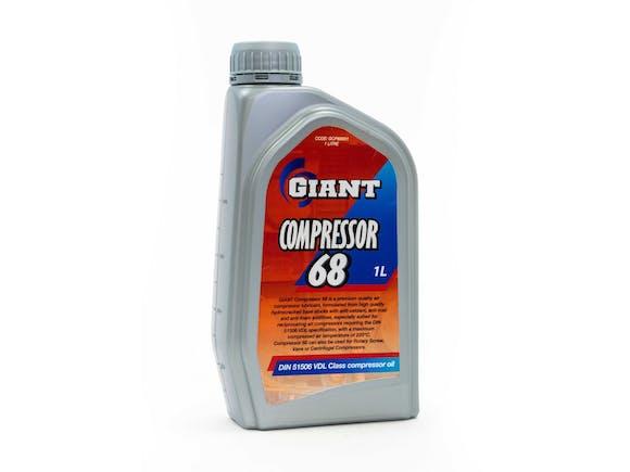 Giant Compressor Oil 68 1L