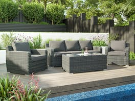 Sabi Rattan Outdoor Lounge Suite
