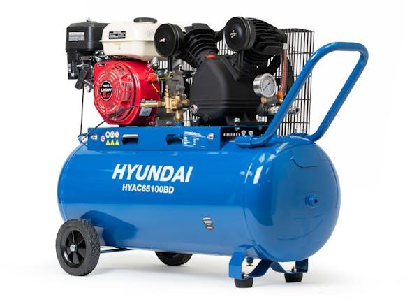 Hyundai Air Compressor Belt Drive 6.5HP 100L