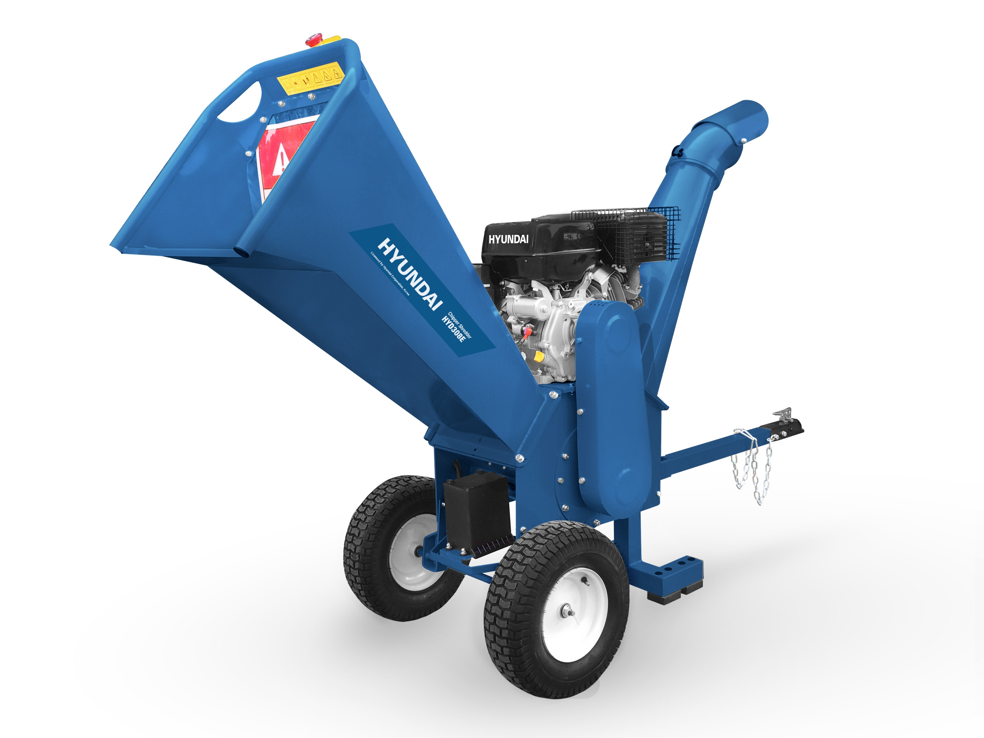 Hyundai Wood Chipper 15HP 308 with Electric Start