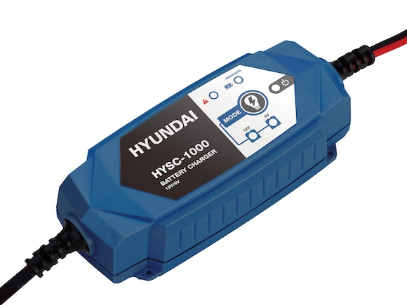 Hyundai Smart Charger 6V+12V 1A