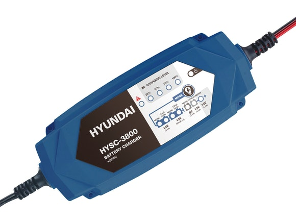 Hyundai Smart Charger 6V+12V 1A+3.5A