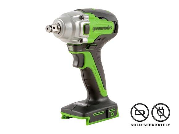"""Greenworks 24V Impact Wrench 1/2"""" Brushless Skin"""
