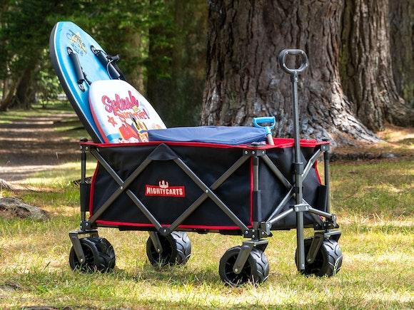 Mighty Carts Folding Beach Cart