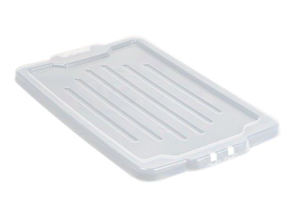 Clear Lids for Storage Crate Fish Bin HD 54L - 6 Pack