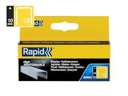 Rapid Finewire Staples Galvanised 13/10 - Pack of 2500