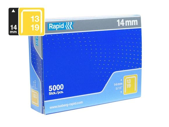 Rapid Finewire Staples Galvanised 13/14 - Box of 5000