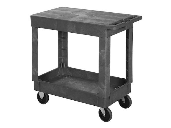 Utility Cart Flat Top 2 Shelf Small