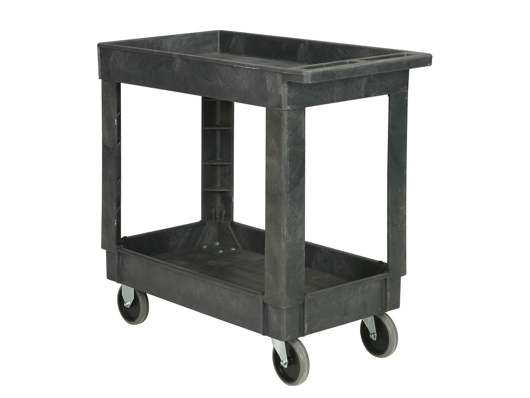 Utility Cart Tray Top 2 Shelf Small