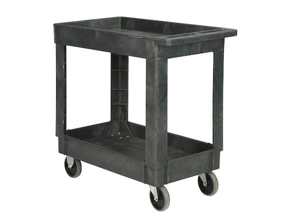 Utility Cart Tray Top 2 Shelf Small