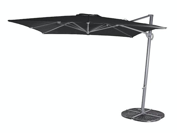 Cantilever Umbrella Navare 2.8 Square Black