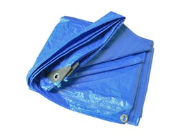 Tarpaulin 90gsm Blue Polyethylene 3.0m x 3.6m