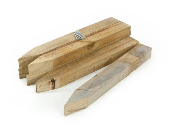 Wooden Peg Down Kit