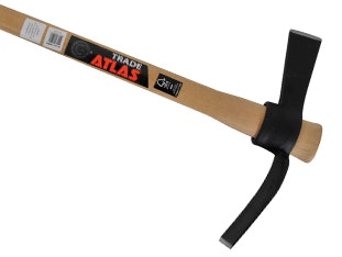 Atlas Wooden Handle Cutter Mattock 5lb