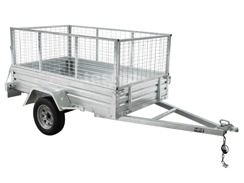 Trailer 7ft x 4ft with Cage