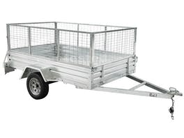 Trailer 8ft x 5ft with Cage